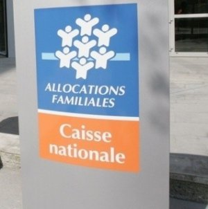 Siège de la Caisse nationale des allocations familiales, le 27 mars 2007 à Paris (AFP - JACK GUEZ)